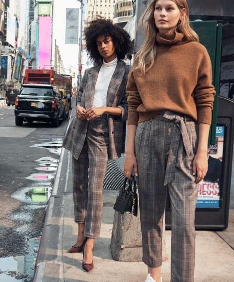 H & M ofis kıyafetleri 2019 2020 sonbahar kış