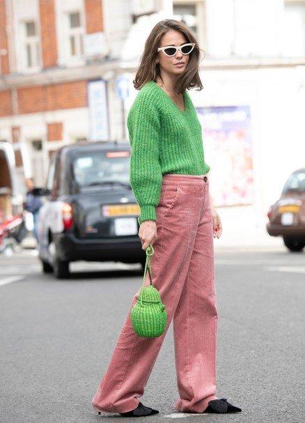 kış modası kadife pantolonlar 2020
