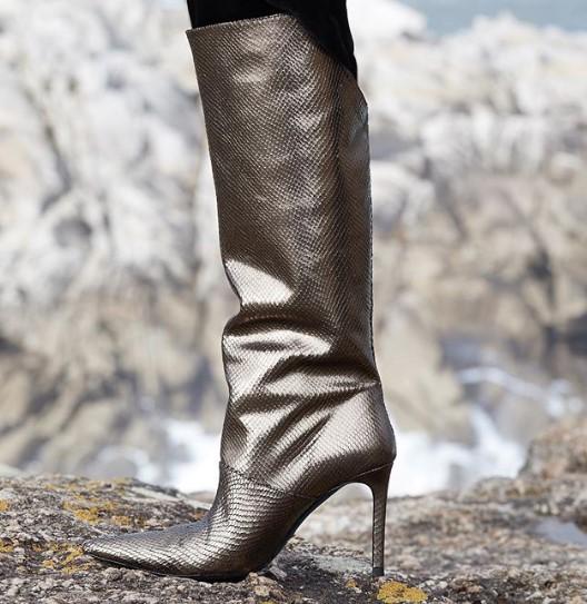 Zara kış parti ayakkabıları 2019 2020