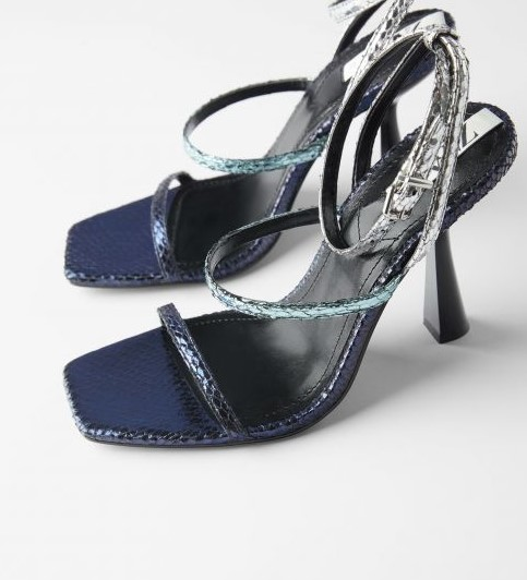 Zara parti ayakkabı koleksiyonu 2020