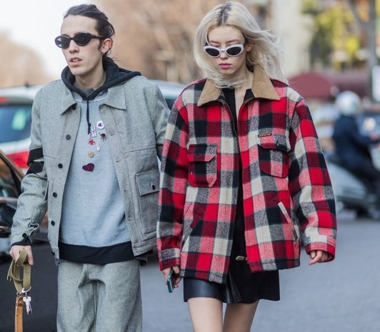 kışlık kareli ceket modelleri 2020