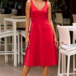 kırmızı yılbaşı elbiseleri 2020