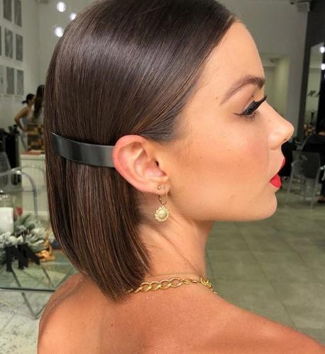 yılbaşı için bayan kısa saç modelleri 2020