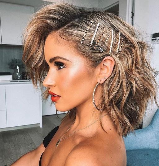 yeni yıl kısa saç modelleri 2020