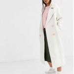 beyaz uzun ceket modelleri 2020
