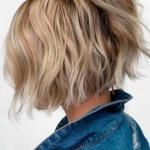 ince telli saçlar için kadın kısa saç kesimleri 2020