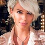 ince telli saçlar için kadın kısa saç modelleri