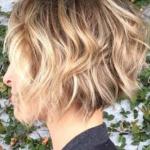 ince telli saçlar için kadın kısa saç modelleri 2020