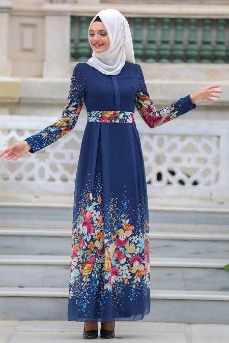 Tesettür Giyimde Sezonun En Trend Yazlık Elbise Modelleri
