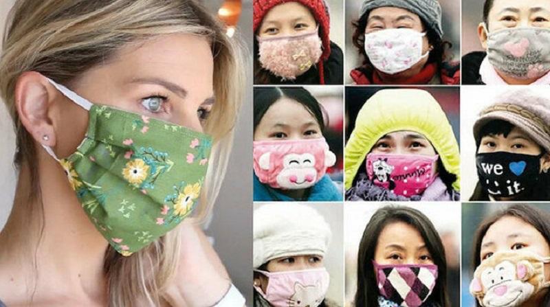 En Şık Korona Maske Modelleri