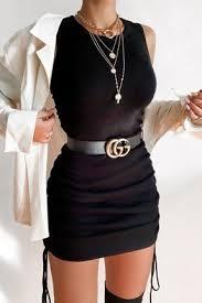 Siyah Elbise İçin Kombin Önerileri